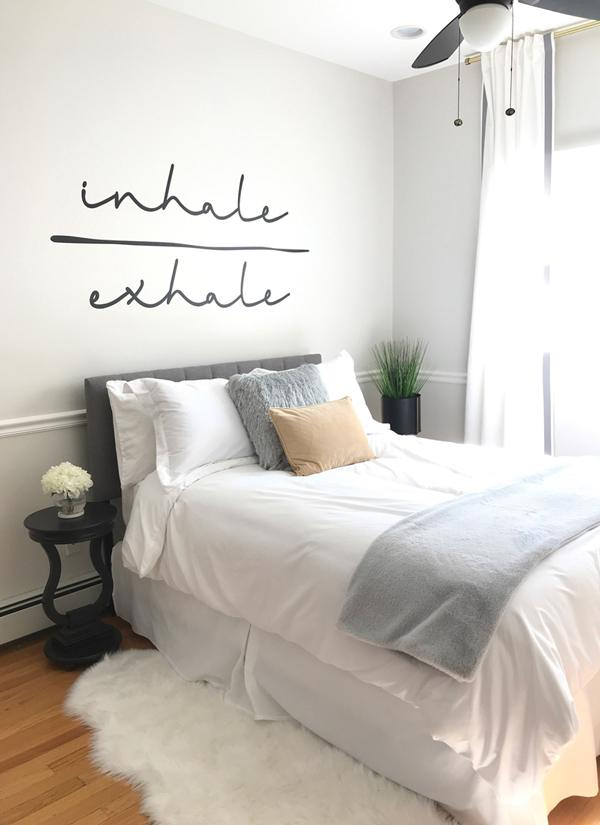 neutral-gray-airbnb-with-inhale-exhale-wall-decal-600x825