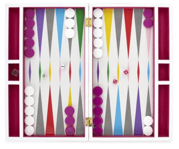christmas-party-games-checkerboard-backgammon-set