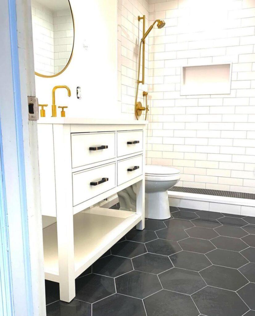 gold-towel-bar-sets-white-bathroom