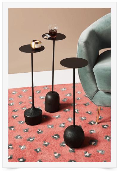black-accent-tables
