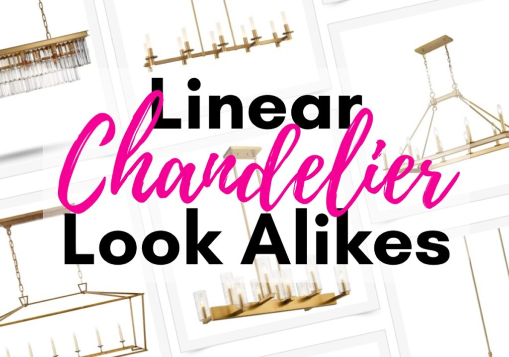 linear-chandelier gold