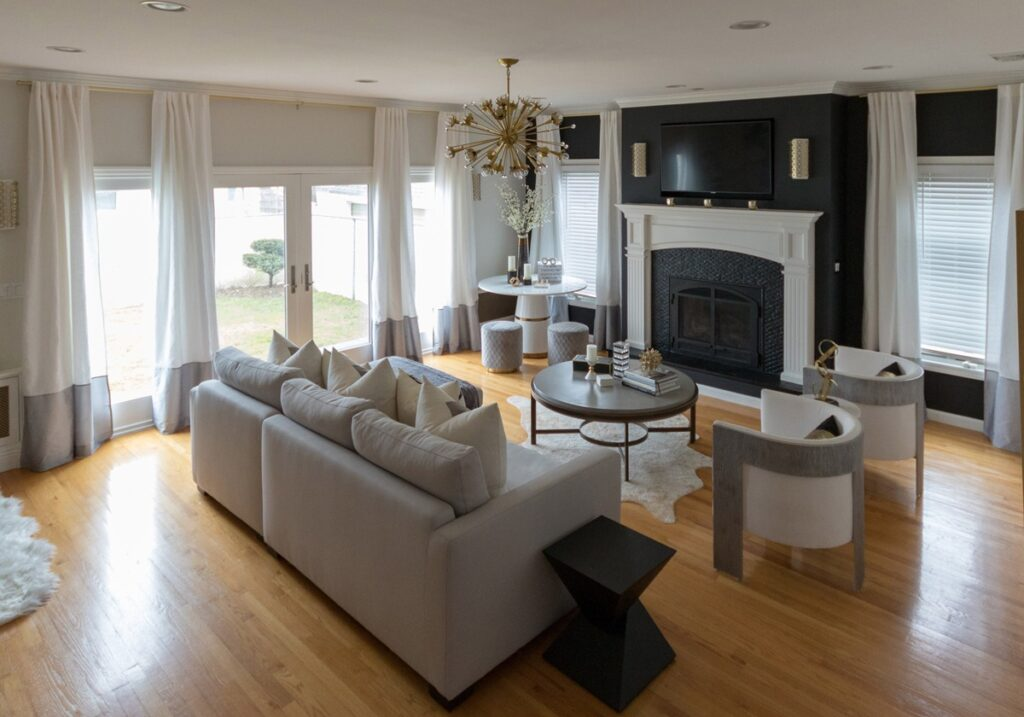 neutral-color-living-room-accent-wall