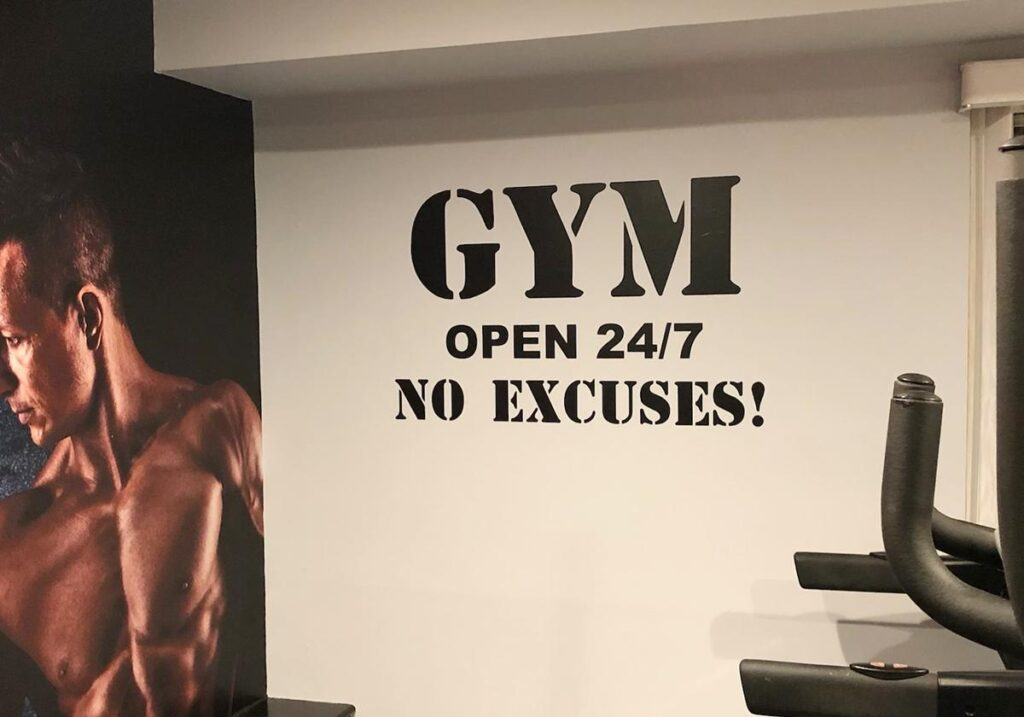 wall decals for gym
