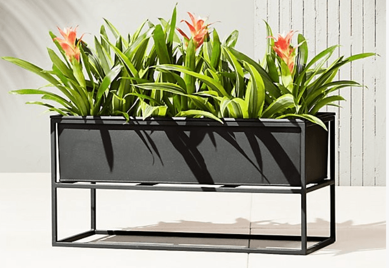 low-outdoor-planter
