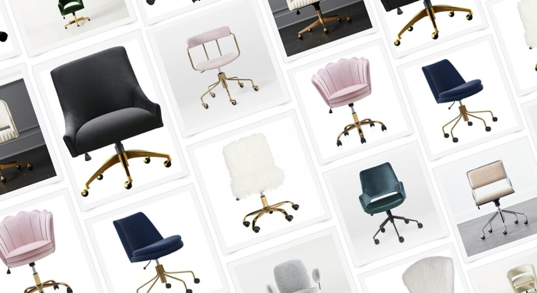 19 Pretty Office Chairs You'll Absolutely Love For Your Cloffice