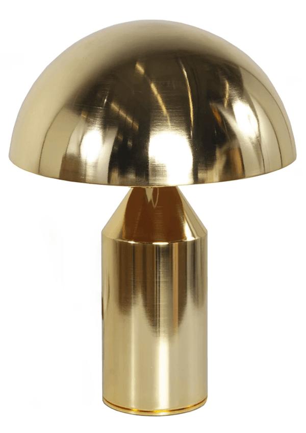 gold-mushroom-lamp