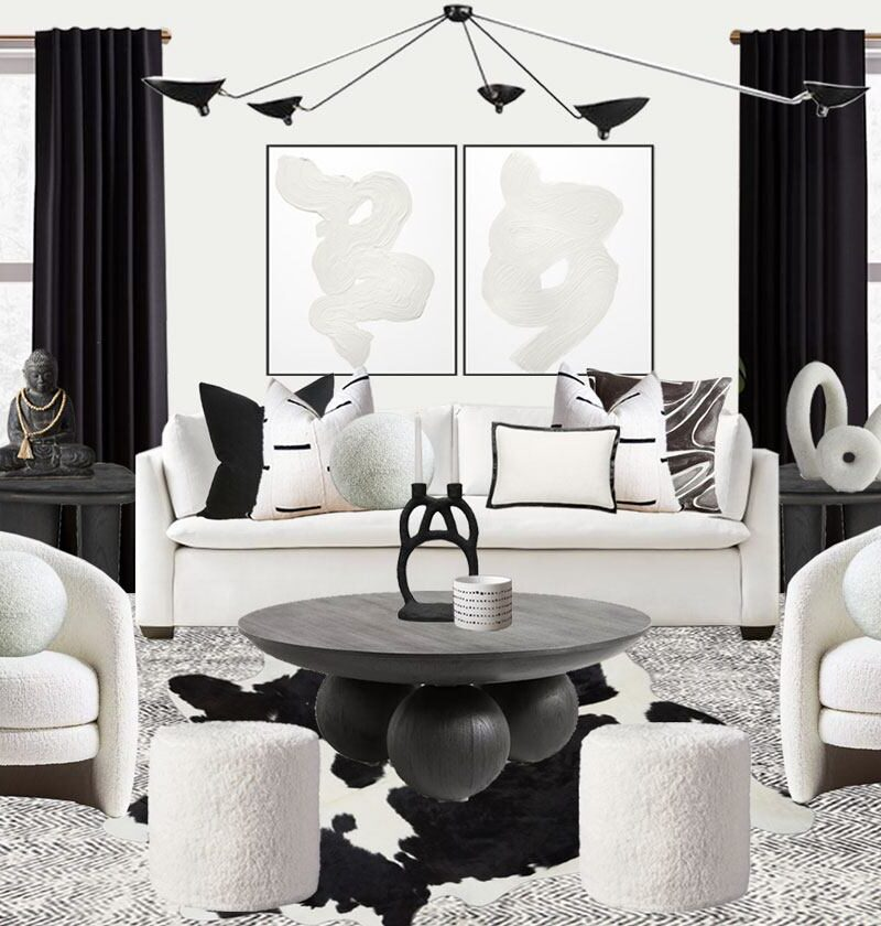Black and White Home Decor That'll Instantly Transform Your Home